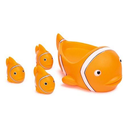 Набор для ванной BabyGo Семейка рыбок