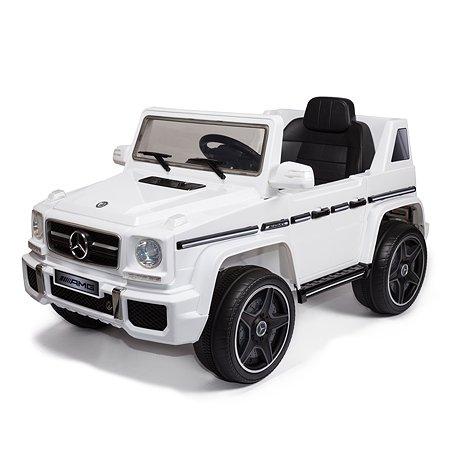 Электромобиль Kreiss Mercedes G63 AMG 2X6V белый (свет/звук)