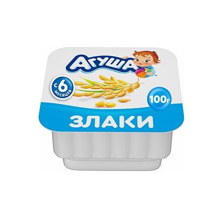 Творог детский фруктовый Агуша злаки 3.9%100г с 6месяцев