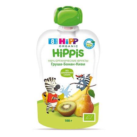 Пюре Hipp груша-банан-киви 100 г с 8 месяцев