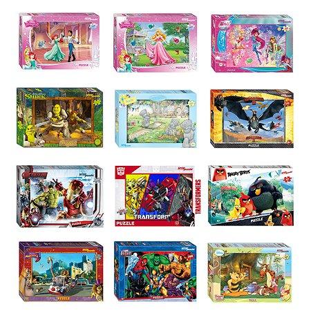 Пазл Step Puzzle лицензионные 260элементов в ассортименте 95009-95057 95061