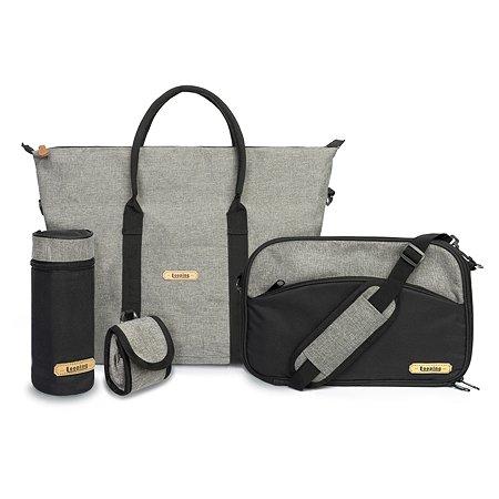 Набор сумок SQUIZZ Looping 6предметов Серый SZ