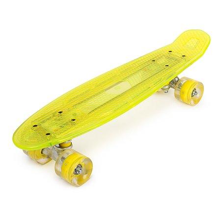 Скейтборд Kreiss с подсветкой ZHS607
