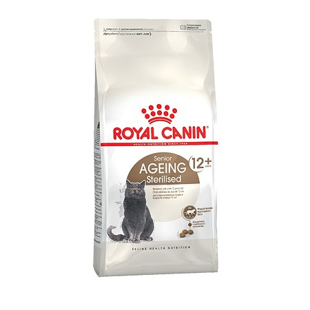 Корм сухой для кошек ROYAL CANIN Ageing Sterilised 2кг пожилых стерилизованных