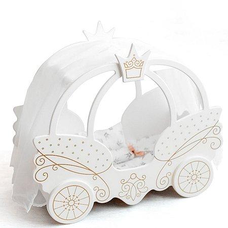 Кроватка Манюня для кукол мт72320