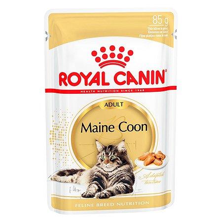 Корм влажный для кошек ROYAL CANIN Maine Coon 85г породы мейн-кун пауч