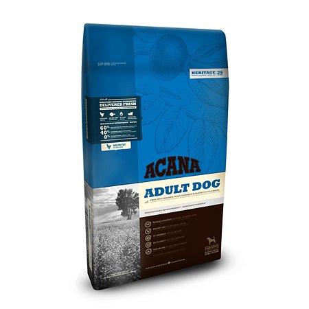 Корм для собак ACANA Heritage Adult беззерновой 17кг