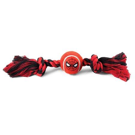 Игрушка для собак Triol Disney Marvel Человек-паук Верёвка и мяч 12111085