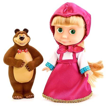 Кукла Карапуз Маша и медведь Маша 15 см