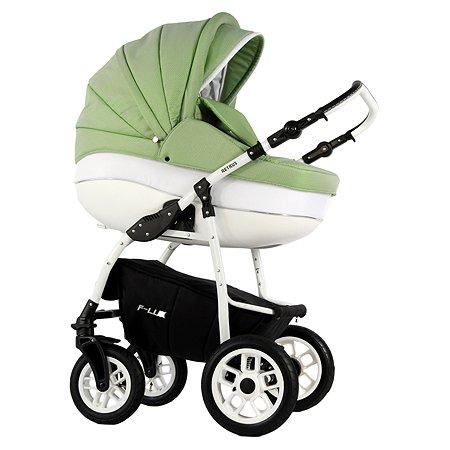 Коляска 2в1 RETRUS Futuro Lux 83R Светло-зеленый