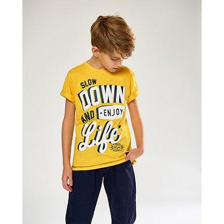 Футболка Futurino Fashion жёлтая