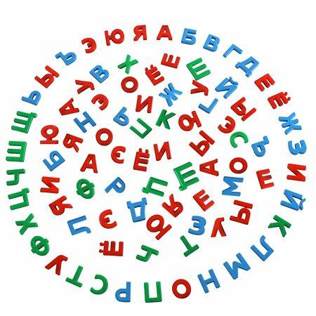 Набор Полесье Первые уроки на магнитах 86 букв 67630_PLS