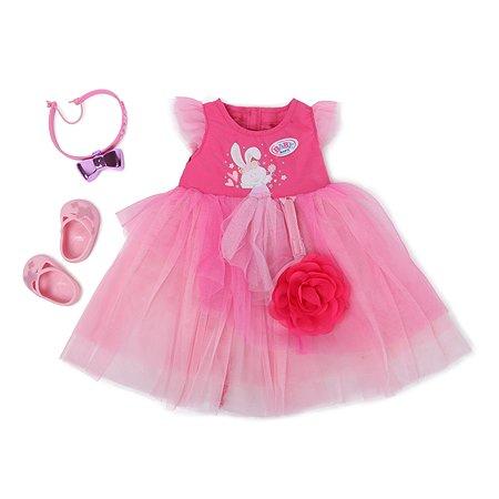 Платье для куклы Zapf Creation Baby Born бальное 827-178