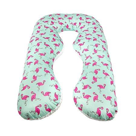 Подушка для беременных AMARO BABY Пинки анатомическая Мятный