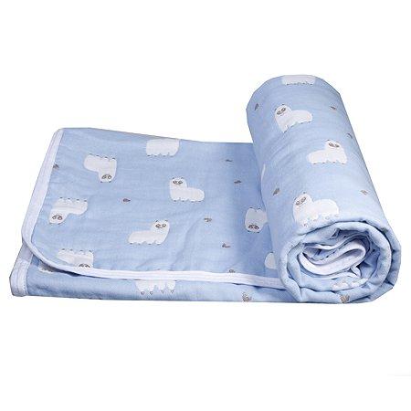 Одеяло Baby Edel Малыш Лама Голубое 23133
