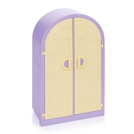 Шкаф для куклы Огонек Маленькая принцесса С-1504