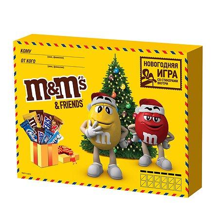 Набор подарочный M&MS Friends Big Envelop 685г