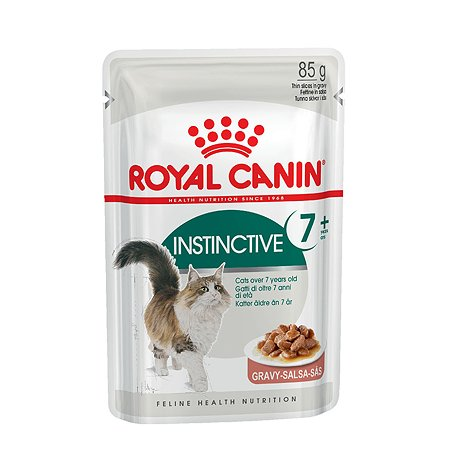 Корм влажный для кошек ROYAL CANIN Instinctive 85г пожилых пауч