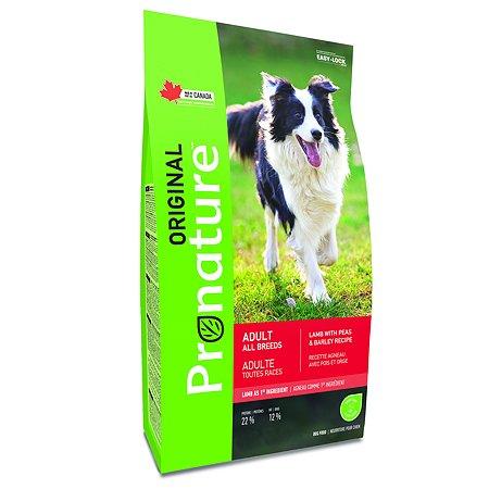 Корм для собак Pronature Original ягненок 18кг