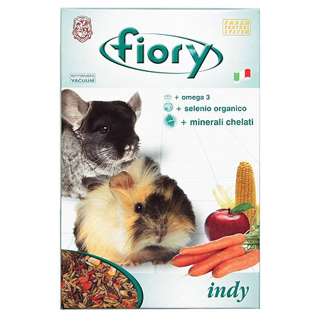 Корм для морских свинок и шиншилл Fiory Fiory Indy 850г