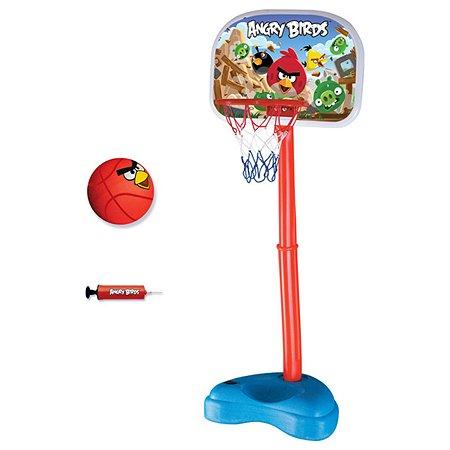 Стойка баскетбольная Angry Birds с кольцом 140 см