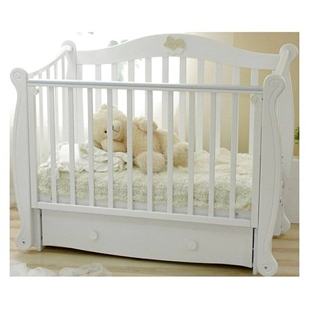 Кровать детская Красная Звезда (Можга) Валерия белый