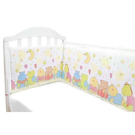Борт в кроватку Baby Nice желтый