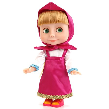 Кукла Карапуз Маша (100 фраз, 4 песенки)
