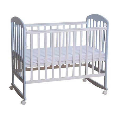 Кровать Фея 323 белый-лазурь