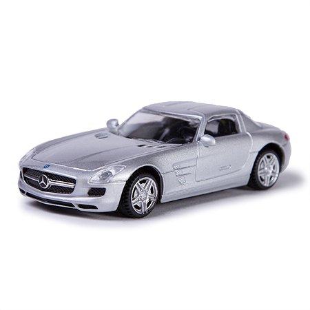 Машинка Rastar Mercedes SLS 1:43 Серебряная