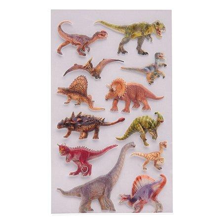 Наклейки многоразовые Липляндия Динозавры