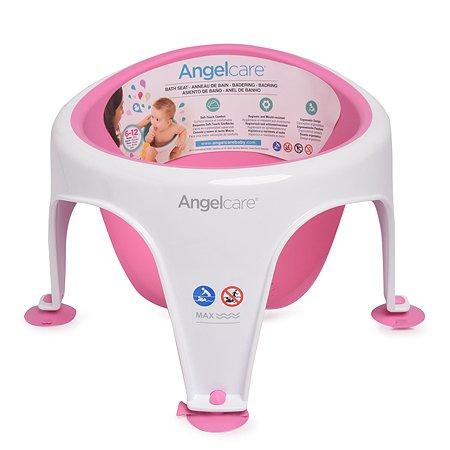 Сиденье для купания детей Angelcare Bath Ring розовое