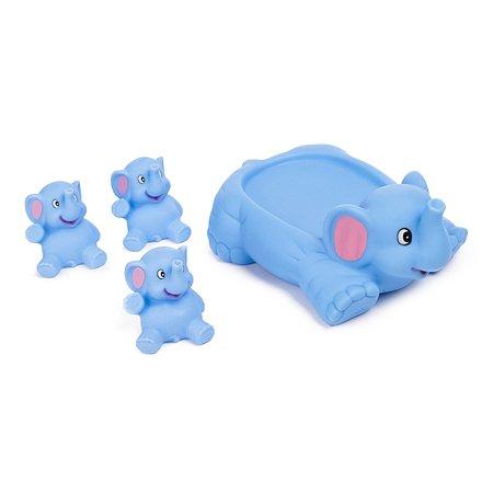 Набор для ванной BabyGo Семейка слонов