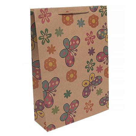 Пакет бумажный Magic Time Феникс-Презент 24х33х8 см,160 г/м2, в ассортименте