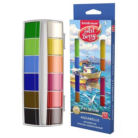 Краски акварельные ArtBerry Премиум 12цветов 41735