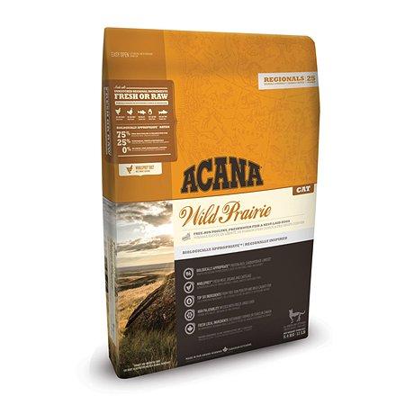 Корм сухой для кошек ACANA Regionals Wild Prairie Cat 5.4кг беззерновой курица