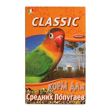 Корм для попугаев Fiory Classic средних 650г