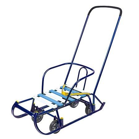 Санки Ника Тимка 6 Универсал Синий Т6У/С