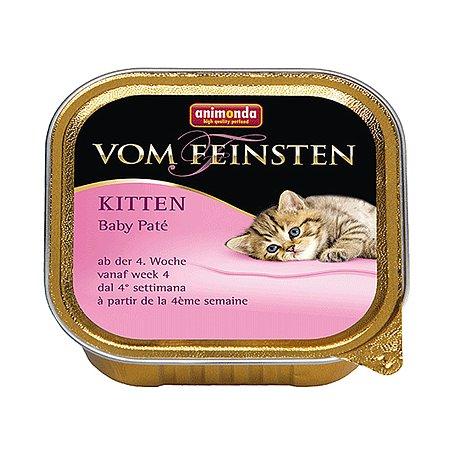Корм влажный для котят ANIMONDA Vom Baby Pate пате 100г консервированный