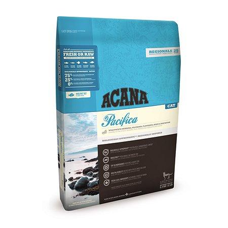 Корм сухой для кошек ACANA Regionals Pacifica Cat 5.4кг беззерновой рыба