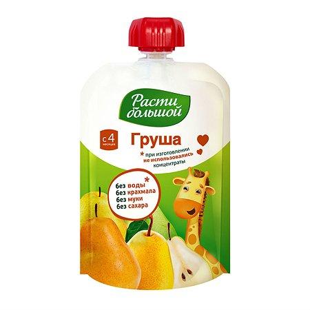 Пюре Расти Большой груша  90 г с 4 мес+