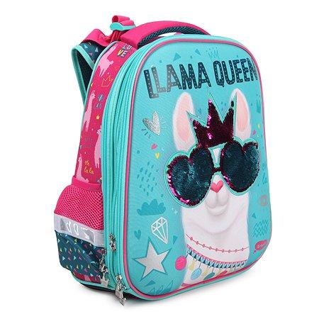 Ранец школьный Erhaft Лама пайетки LAMA002