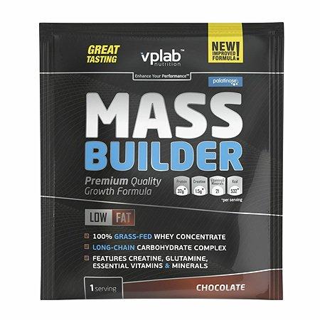 Гейнер VPLAB Mass Builder шоколад 100г