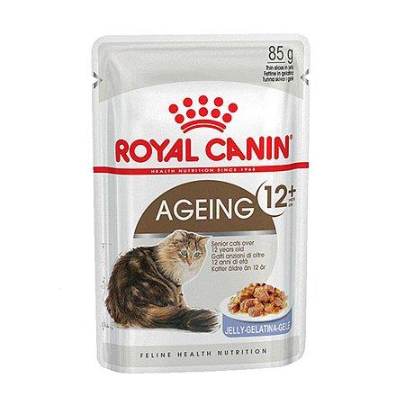 Корм влажный для кошек ROYAL CANIN Ageing 85г желе пожилых пауч