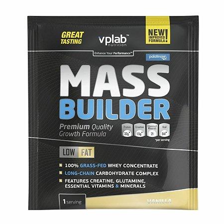 Гейнер VPLAB Mass Builder ваниль 100г