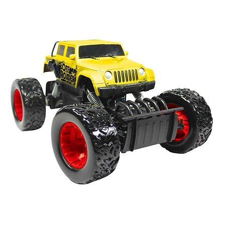 Машинка радиоуправляемая Rastar Rock Crawler Action 1:18 Желтая