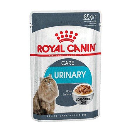 Корм влажный для кошек ROYAL CANIN Urinary Care 85г соус в целях профилактики мочекаменной болезни пауч