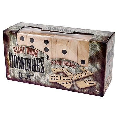 Игра настольная Spin Master Гигантское деревянное домино 6037727