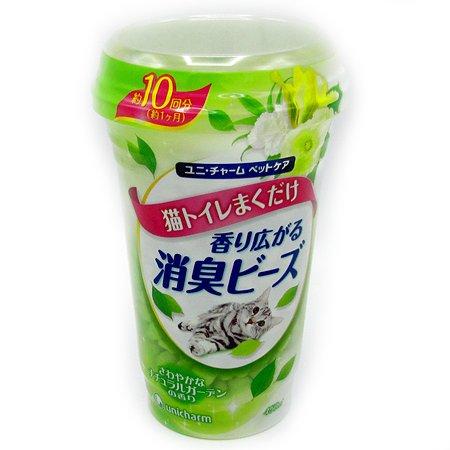 Шарики Unicharm дезодорирующие с растительным запахом 450мл
