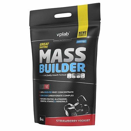 Гейнер VPLAB Mass Builder клубника-йогурт 5кг